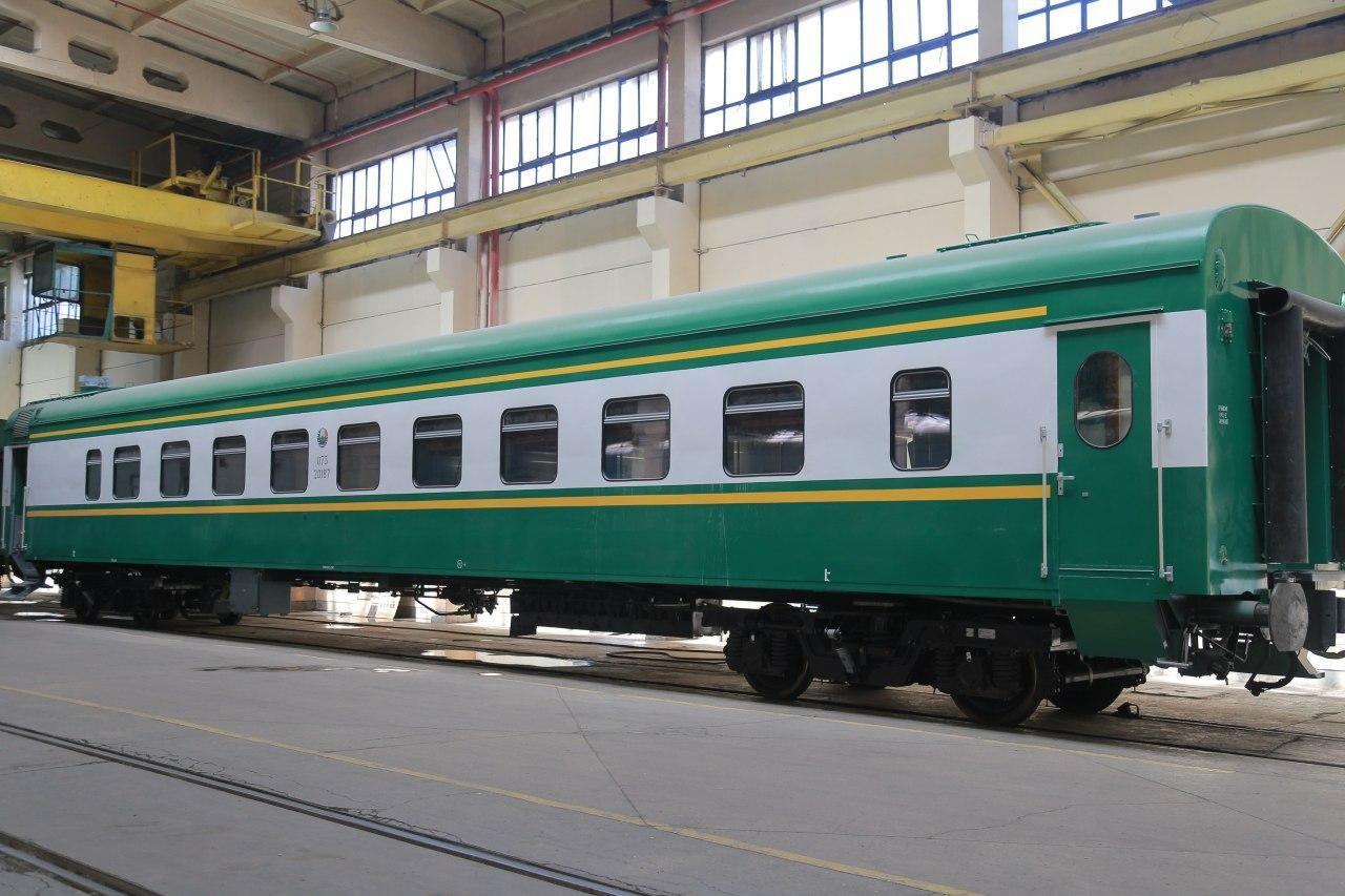 Пассажирский Вагон некупейного типа (плацкарт) модели 61-911