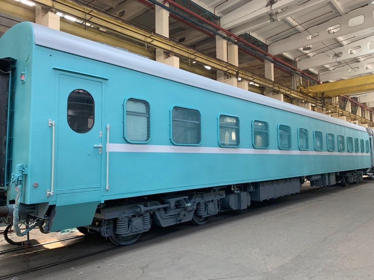 Пассажирский вагон специального назначения модели 61-934